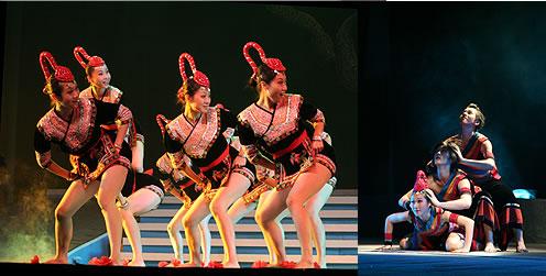 畲族舞蹈-香港各界青少年庆祝建国六十周年系列活动